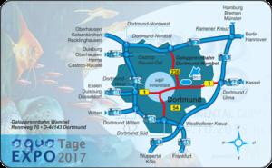 Anfahrt aqua EXPO Tage