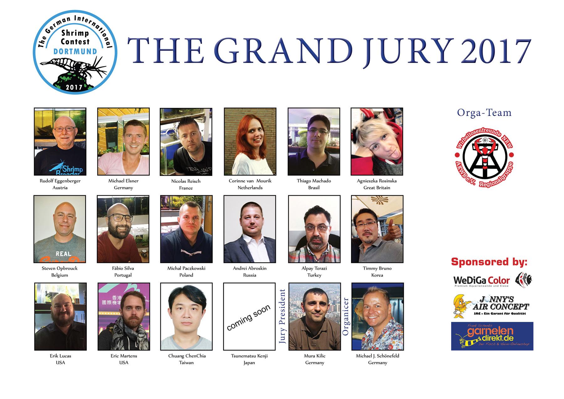 TGISC - The Grand Jury 2017 - aqua EXPO Tage - Dortmund