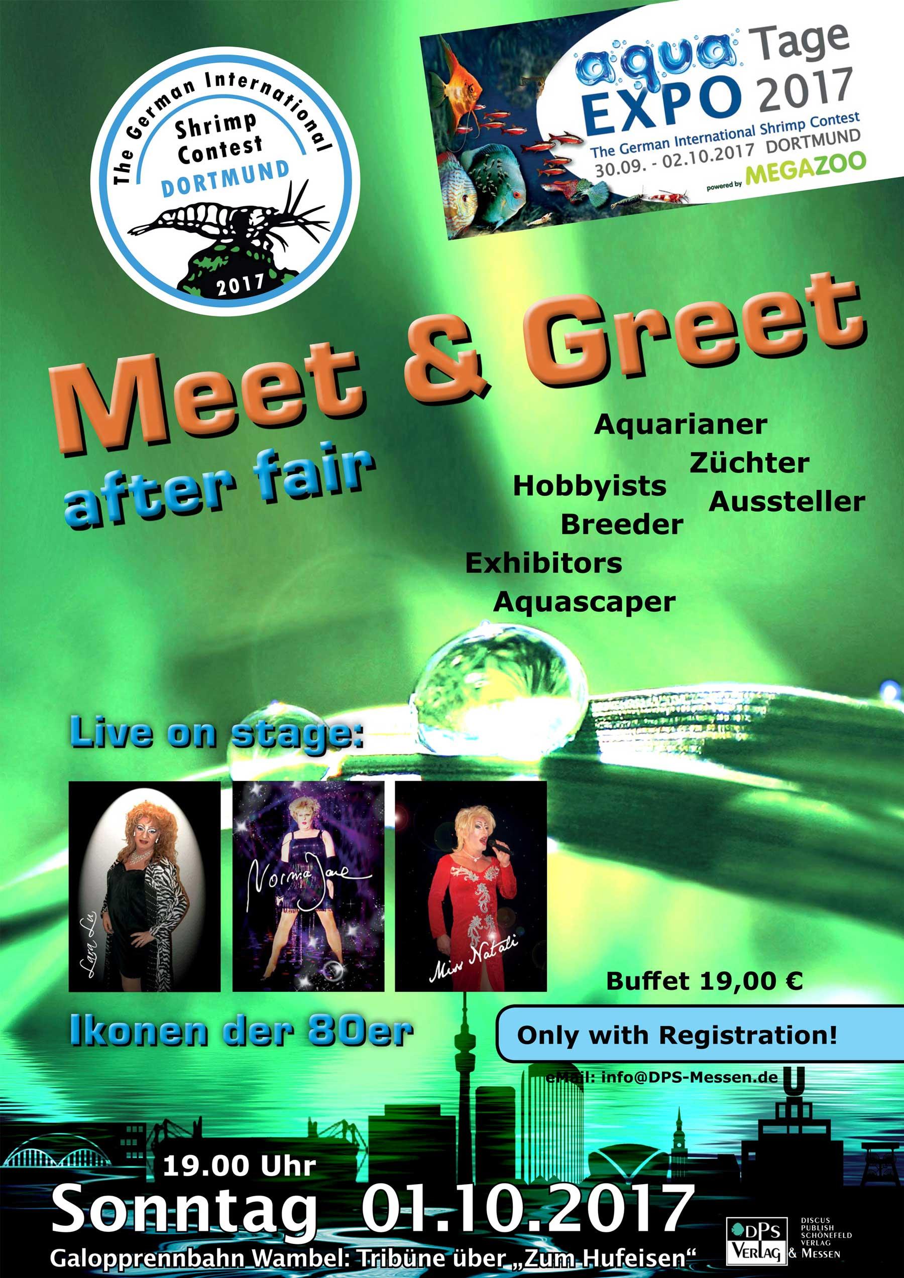 TGISC - aqua EXPO Tage - Meet and Greet - Dortmund
